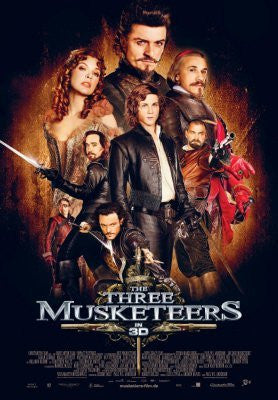 Three Musketeers Movie Poster 24inx36in (61cm x 91cm) - Fame Collectibles