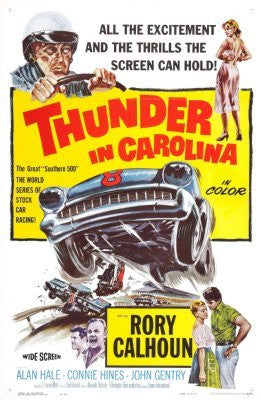 Thunder In Carolina Movie Poster 24inx36in (61cm x 91cm) - Fame Collectibles