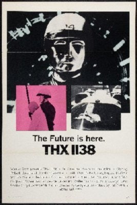 Thx-1138 Poster 24inx36in - Fame Collectibles