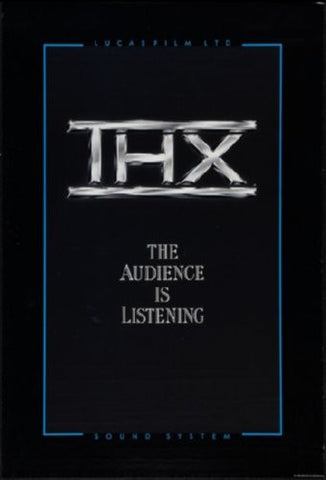 Thx Promo Art Movie Poster 24inx36in (61cm x 91cm) - Fame Collectibles