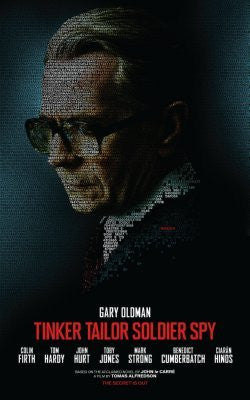 Tinker Tailor Soldier Spy Movie Poster 24inx36in (61cm x 91cm) - Fame Collectibles