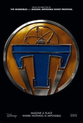 Tomorrowland Movie poster 24inx36in Poster 24x36 - Fame Collectibles
