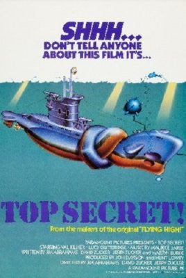 Top Secret Poster 24inx36in - Fame Collectibles