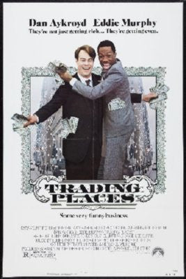 Trading Places Poster 24inx36in - Fame Collectibles