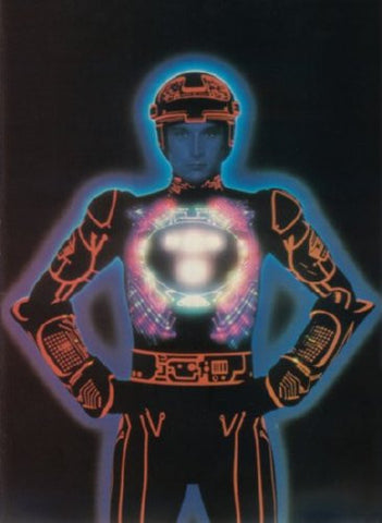 Tron Bruce Boxleitner Movie Poster 24inx36in (61cm x 91cm) - Fame Collectibles