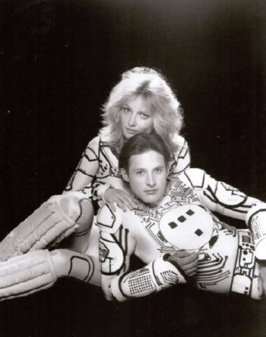 Tron Cindy Morgan Bruce Boxleitner Movie Poster 24inx36in - Fame Collectibles