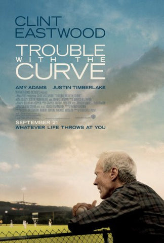 Trouble With The Curve Movie Poster 24inx36in Poster 24x36 - Fame Collectibles