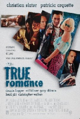 True Romance Poster 24inx36in - Fame Collectibles