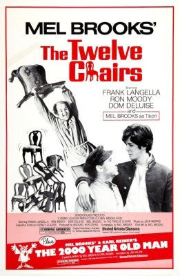 The Twelve Chairs Movie Poster 24inx36in (61cm x 91cm) - Fame Collectibles