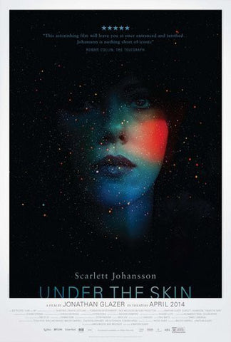 Under The Skin Movie Poster 24Inx36In Poster 24x36 - Fame Collectibles