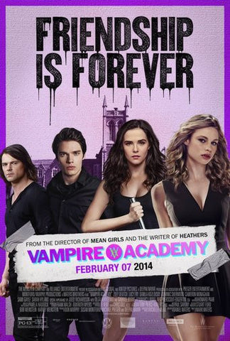 Vampire Academy Movie Poster 24Inx36In Poster 24x36 - Fame Collectibles