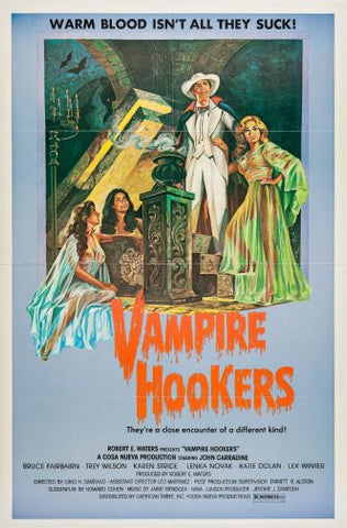 Vampire Hookers Movie Poster 24inx36in Poster 24x36 - Fame Collectibles