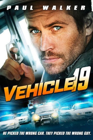 Vehicle 19 Movie Poster 24Inx36In Poster 24x36 - Fame Collectibles