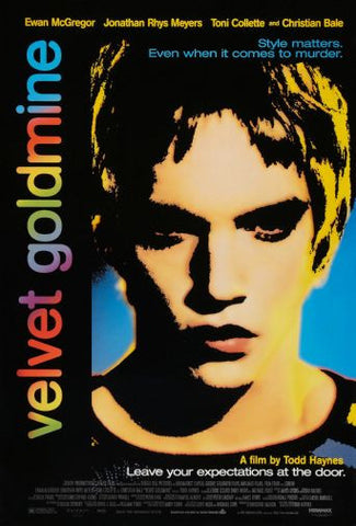 Velvet Goldmine Movie poster 24inx36in Poster 24x36 - Fame Collectibles