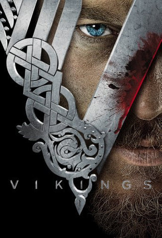 Vikings Movie Poster 24inx36in Poster 24x36 - Fame Collectibles