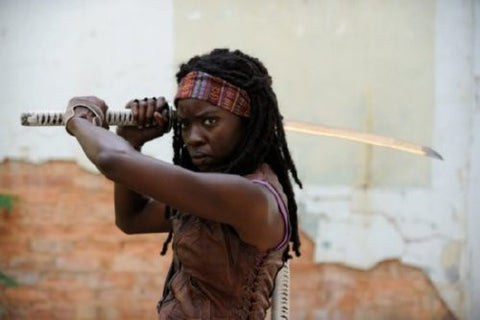 Walking Dead Michonne Poster 24inx36in (61cm x 91cm) - Fame Collectibles