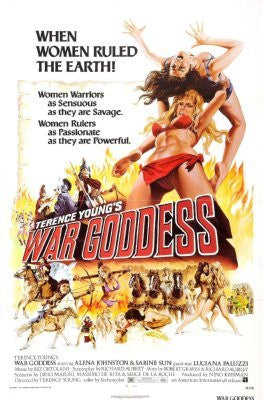 War Goddess Movie Poster 24inx36in (61cm x 91cm) - Fame Collectibles