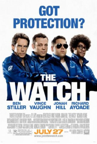 The Watch Movie Poster 24inx36in (61cm x 91cm) - Fame Collectibles