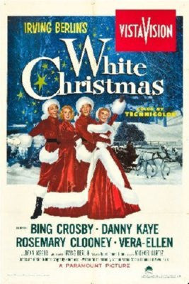 White Christmas Poster 24inx36in - Fame Collectibles