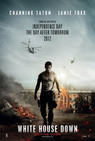 White House Down Movie Poster 24inx36in Poster 24x36 - Fame Collectibles