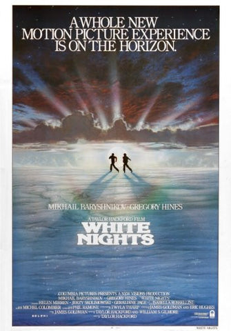 White Nights Movie Poster 24inx36in Poster 24x36 - Fame Collectibles
