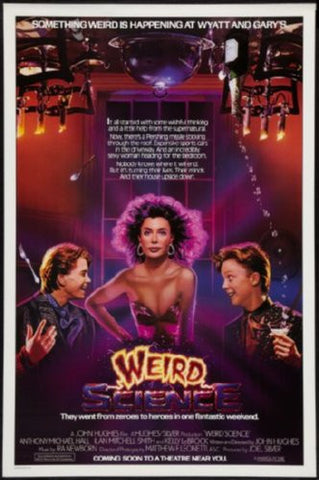 Weird Science Movie Poster 24inx36in (61cm x 91cm) - Fame Collectibles