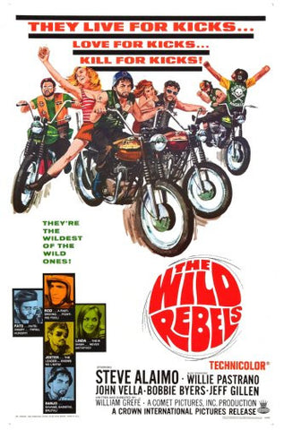 Wild Rebels Movie Poster 24inx36in Poster 24x36 - Fame Collectibles