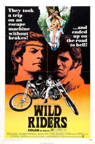Wild Riders Movie Poster 24inx36in Poster 24x36 - Fame Collectibles