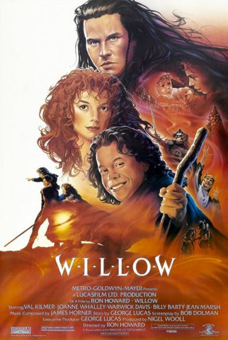 Willow Movie Poster 24inx36in Poster 24x36 - Fame Collectibles