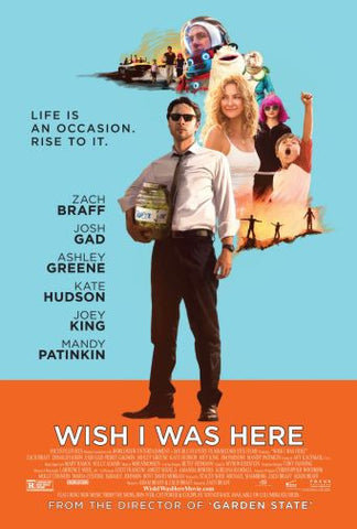 Wish I Was Here Movie poster 24inx36in Poster 24x36 - Fame Collectibles