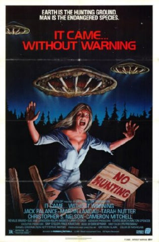 Without Warning Movie Poster 24inx36in (61cm x 91cm) - Fame Collectibles