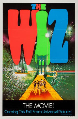 The Wiz Movie Poster 24inx36in Poster 24x36 - Fame Collectibles