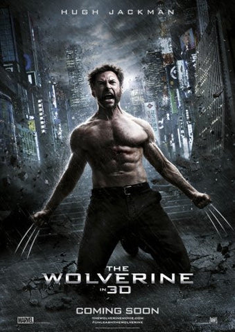 Wolverine Movie Poster 24inx36in Poster 24x36 - Fame Collectibles