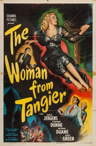 Woman From Tangier Movie Poster 24Inx36In Poster 24x36 - Fame Collectibles