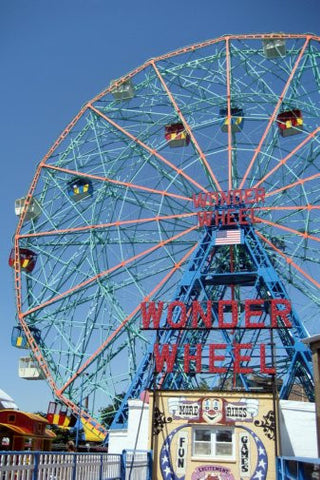 Wonder Wheel Movie Poster 24inx36in Poster 24x36 - Fame Collectibles