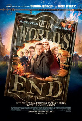 Worlds End Movie Poster 24inx36in Poster 24x36 - Fame Collectibles
