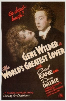 Worlds Greatest Lover Poster 24inx36in - Fame Collectibles