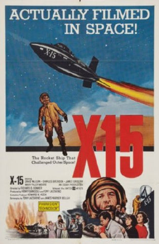 X15 Poster 24inx36in (61cm x 91cm) - Fame Collectibles