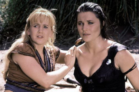 Xena And Gabrielle poster 24inx36in Poster 24x36 - Fame Collectibles