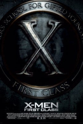 Xmen First Class Movie Poster 24inx36in (61cm x 91cm) - Fame Collectibles
