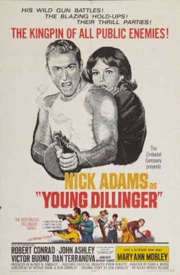 Young Dillinger Movie Poster 24inx36in (61cm x 91cm) - Fame Collectibles