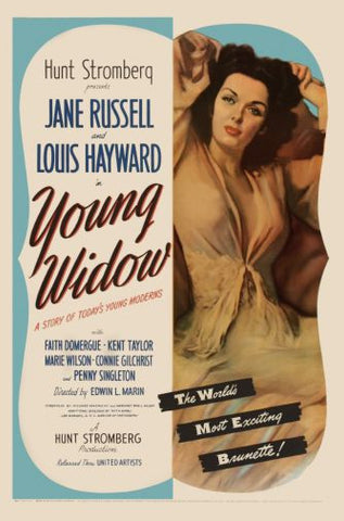 Young Widow Movie poster 24inx36in Poster 24x36 - Fame Collectibles