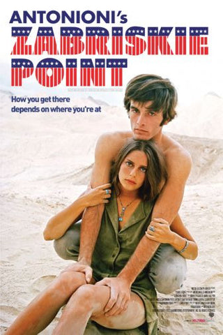 Zabriskie Point Movie poster 24inx36in Poster 24x36 - Fame Collectibles