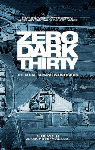 Zero Dark Thirty Movie Poster 24inx36in Poster 24x36 - Fame Collectibles