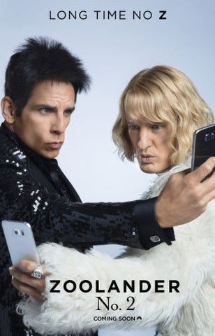 Zoolander 2 Movie Poster 24in x36in - Fame Collectibles