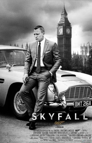 Skyfall Movie Poster 24inx36in Poster 24x36 - Fame Collectibles
