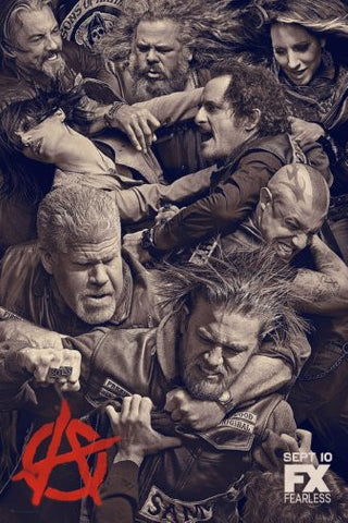 Sons Of Anarchy Poster 24inx36in Poster 24x36 - Fame Collectibles