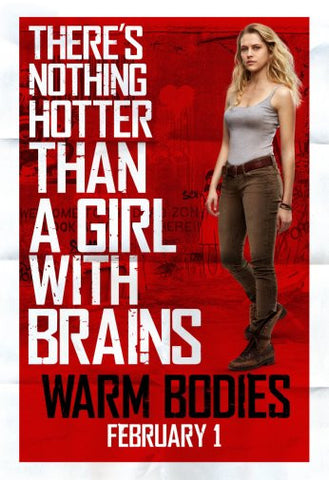 Warm Bodies Movie Poster 24inx36in Poster 24x36 - Fame Collectibles