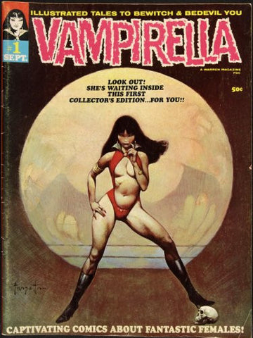 Vampirella Poster 27x36 Cover 24x36 - Fame Collectibles