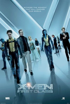Xmen First Class Movie Poster 24x36 - Fame Collectibles